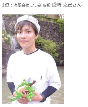 イケ男カンバニスト総選挙、アイノスのスタッフが優勝!