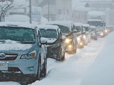 大雪への備え