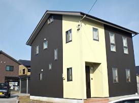 富山の冬とアイノスの家